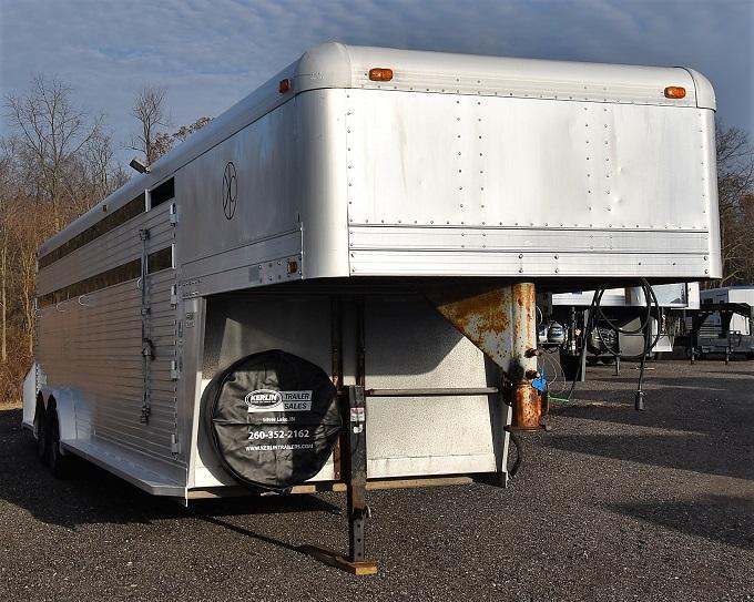 1991 4-Star Trailers Stock/Combo Horse Trailer