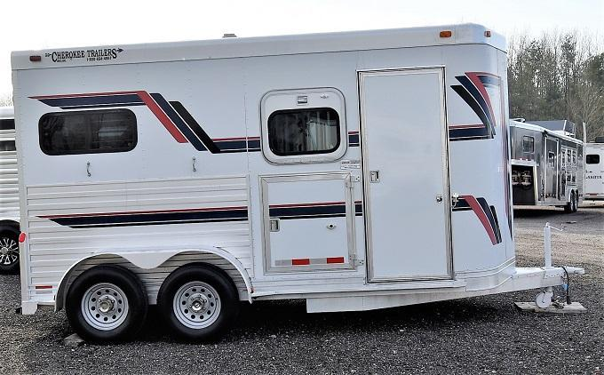 2000 Cherokee Trailers Super Chief Straight Load BP Horse Trailer