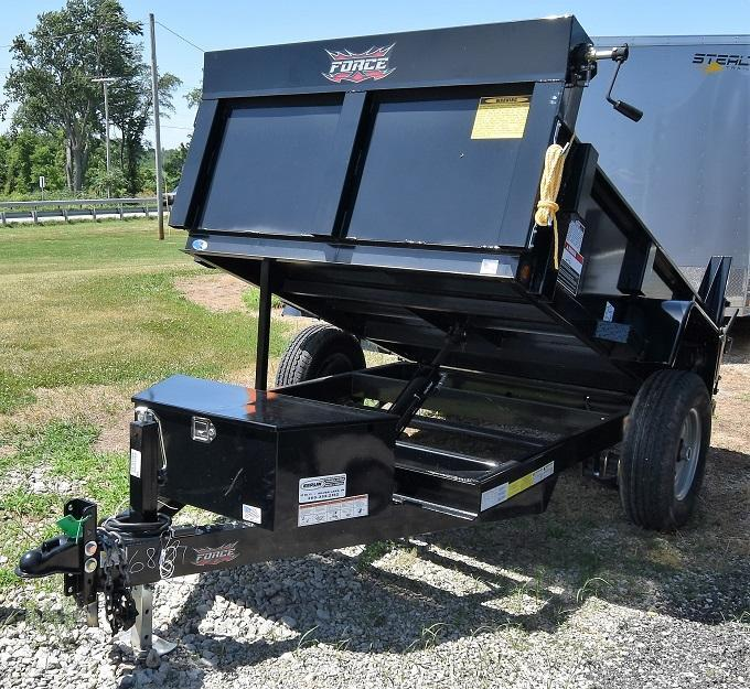 2019 Forest River, Inc. Force Dump Dump Trailer