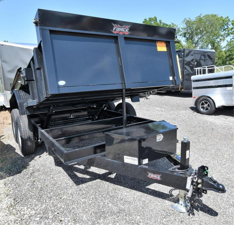 "2019 Force 12' Dump Trailer w/ 24"" Sides"