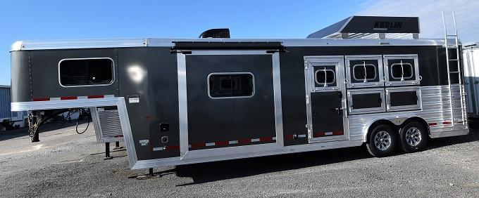 2020 Logan Coach 810 Limited Horse Trailer