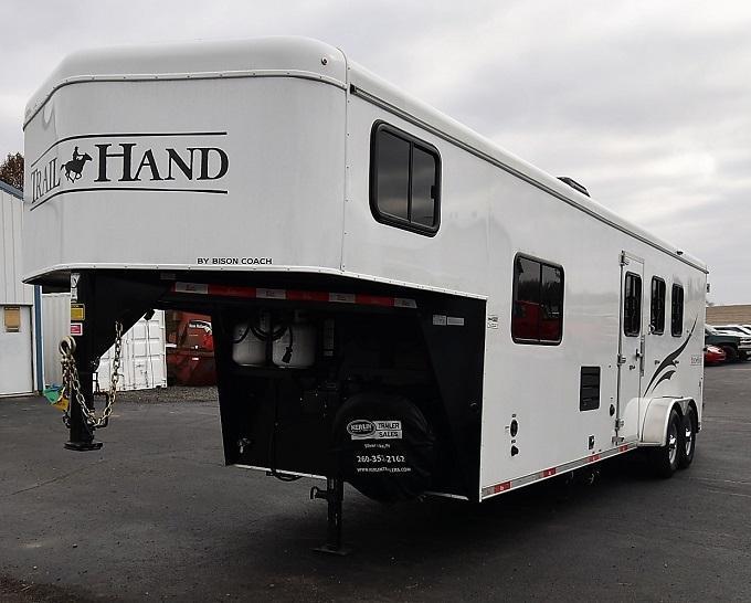 2017 Bison Trailers 7310 Trail Hand Horse Trailer