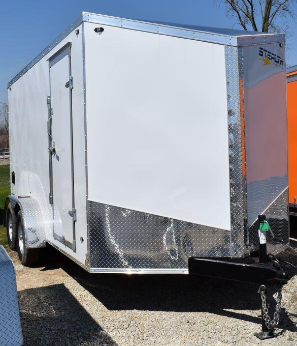 2020 Stealth Trailers Titan 7X14 Enclosed Cargo Trailer
