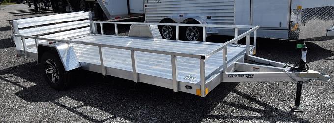 2020 Stealth Trailers Phantom 6514SA Aluminum Utility Trailer