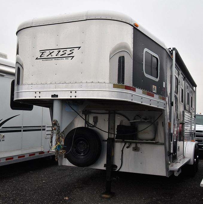 2003 Exiss Trailers XT300 Event w/Weekend LQ Horse Trailer