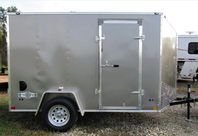 2019 Stealth Mustang SE 6 X 10 SA Enclosed Cargo Trailer