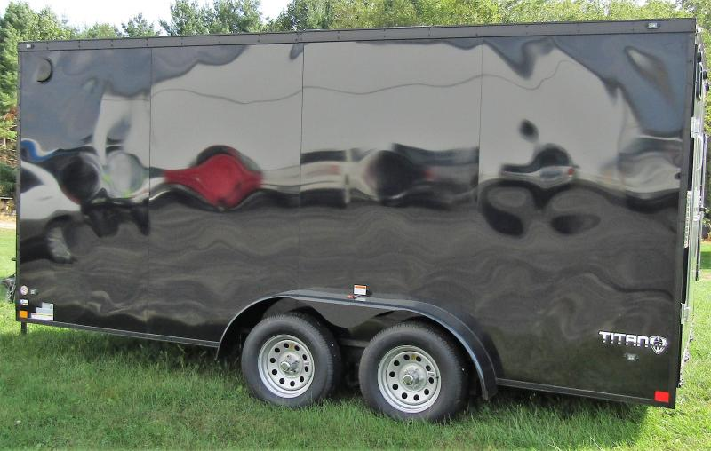 2019 Stealth Trailers Titan 7X16 Enclosed Cargo Trailer