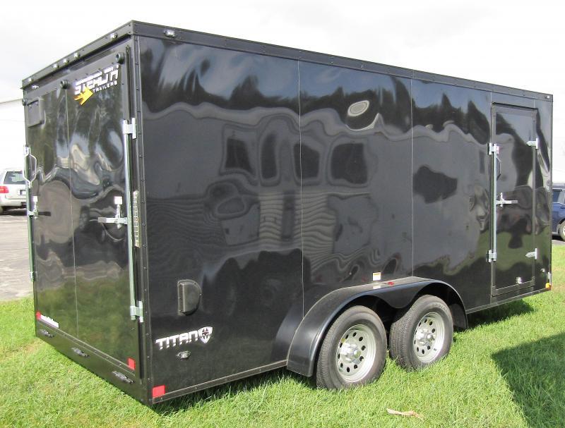 2019 Stealth Trailers Titan 7X16 Enclosed Cargo Trailer