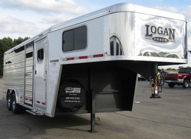 2019 Logan Coach 8 X 20 Stock Trailer