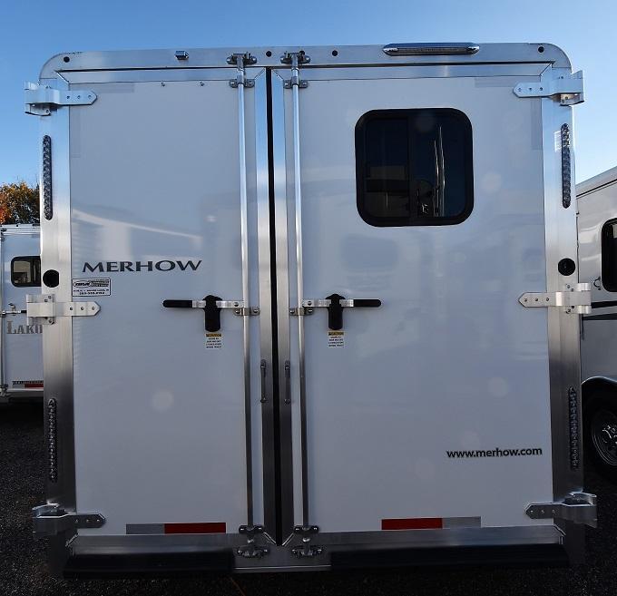 2020 Merhow Trailers 8311 Rear Kitchen
