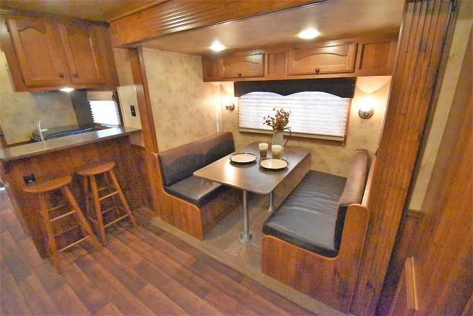 2014 Lakota Charger 8415 Rear Kitchen Horse Trailer