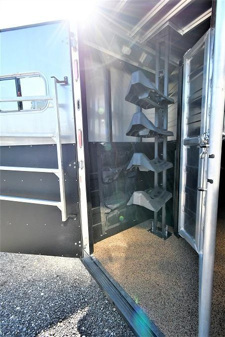 2020 Logan Coach 814 Limited Horse Trailer