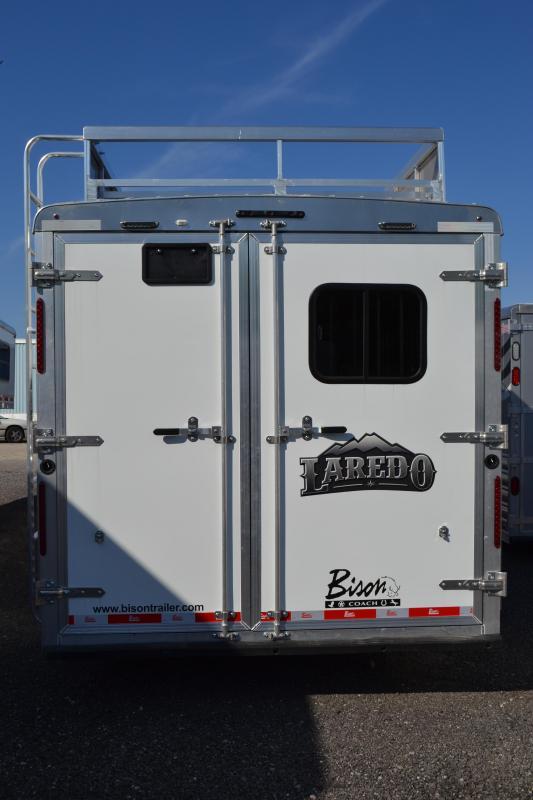 2018 Bison Trailers Laredo Horse Trailer