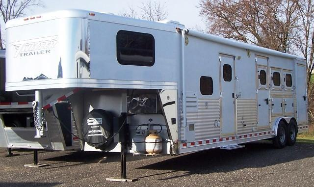 2009 Twister Longhorn Conversion Horse Trailer