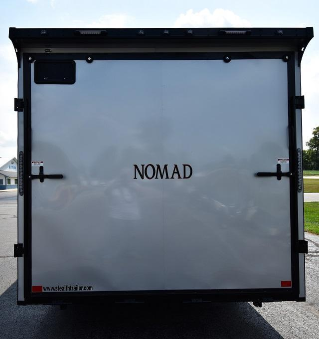 2020 Stealth Trailers Nomad Toyhauler with Living Quarters Enclosed Cargo Trailer