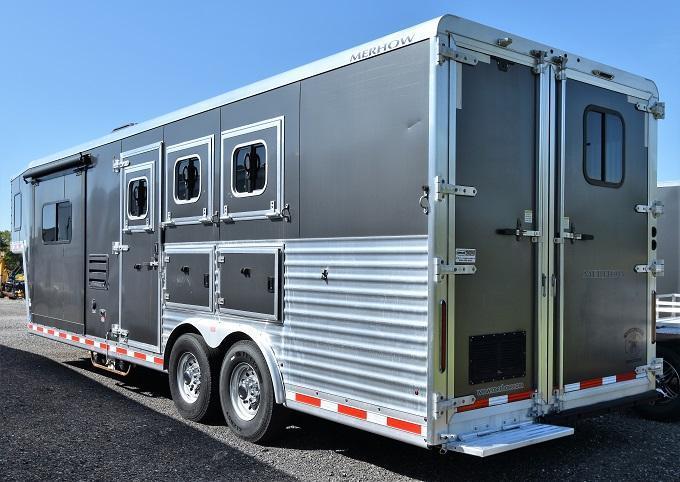2014 Merhow Trailers 8310 Alumastar Horse Trailer