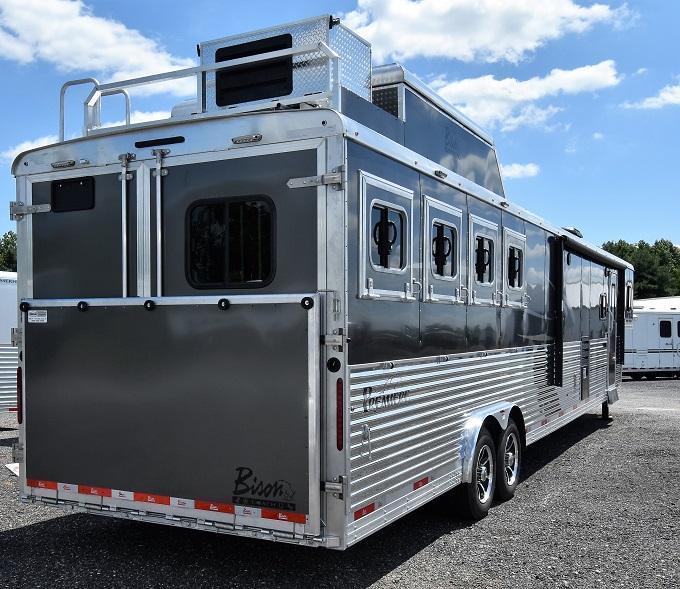 2020 Bison Trailers 8417 Premiere Horse Trailer