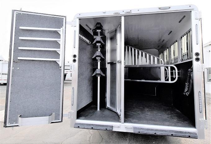 2020 Merhow Trailers Stampede 8414 Horse Trailer