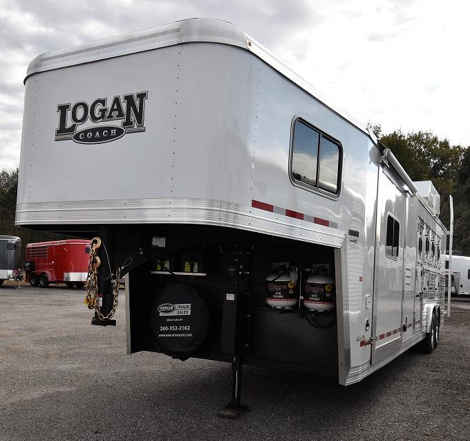 2020 Logan 812 Limited Horse Trailer