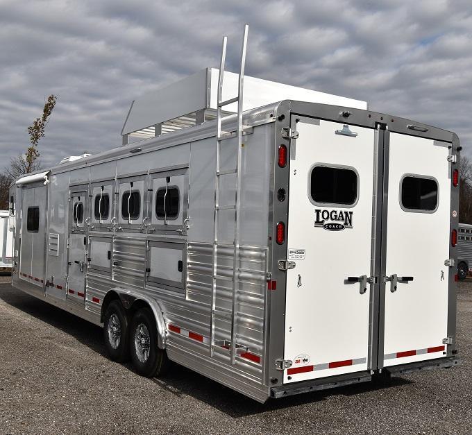 2020 Logan 812 Limited Horse Trailer