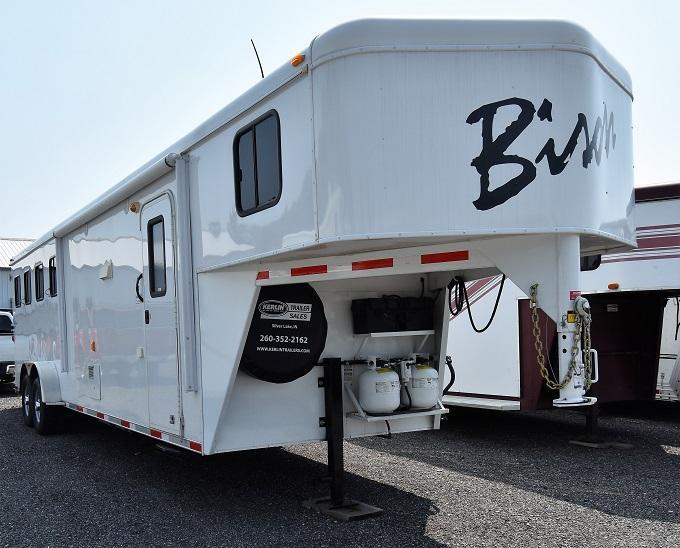 2014 Bison Trailers 7410 Trail Hand Horse Trailer