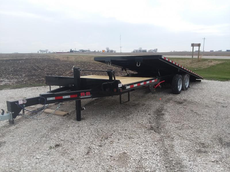 2020 B-B GDFB8X24TPT Equipment Trailer
