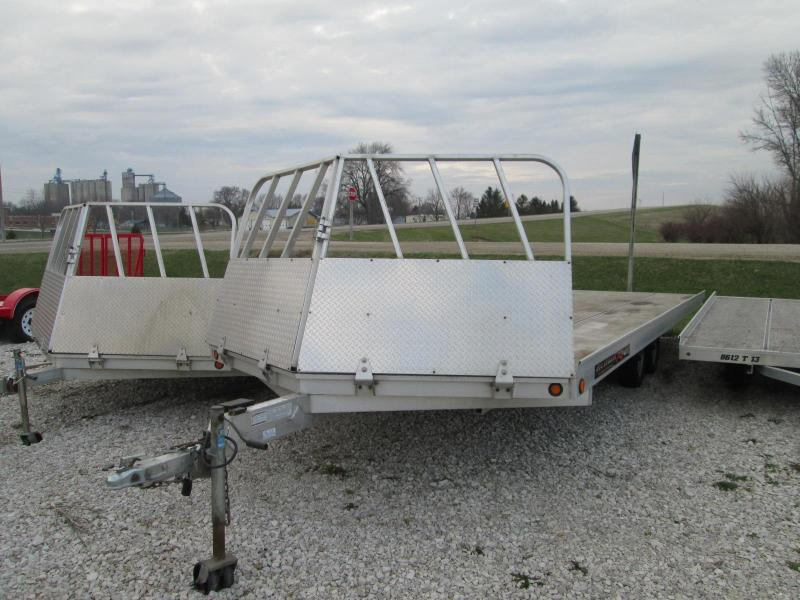 2009 Aluma 8622 Snowmobile Trailer 4-Place