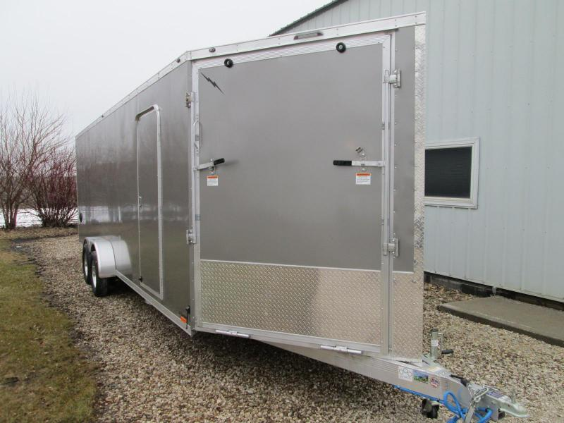 2020 Lightning Trailers LTFES724TA2 Snowmobile Trailer
