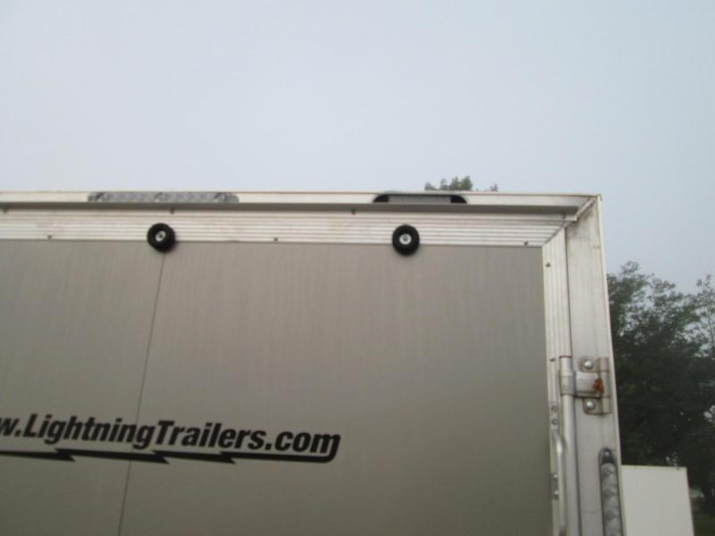 2020 Lightning Trailers LTFES724TA2 Snowmobile Trailer