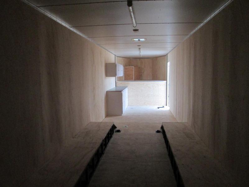 2020 Jensen 44' GN Enclosed Enclosed Cargo Trailer