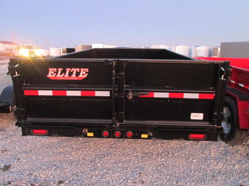 2020 Elite Trailers Elite 14 Dump Bumper Hitch Trailer Dump Trailer