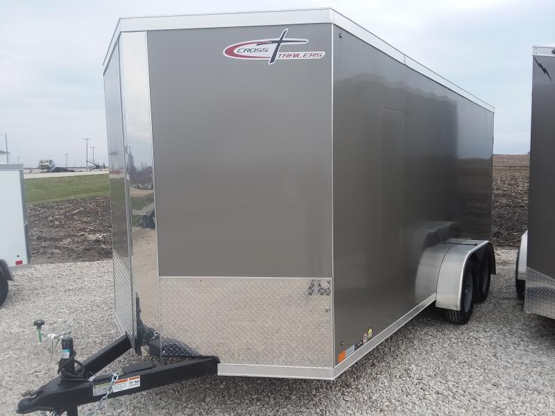 2021 Cross Trailers 7 x 16 TA Enclosed Cargo Trailer