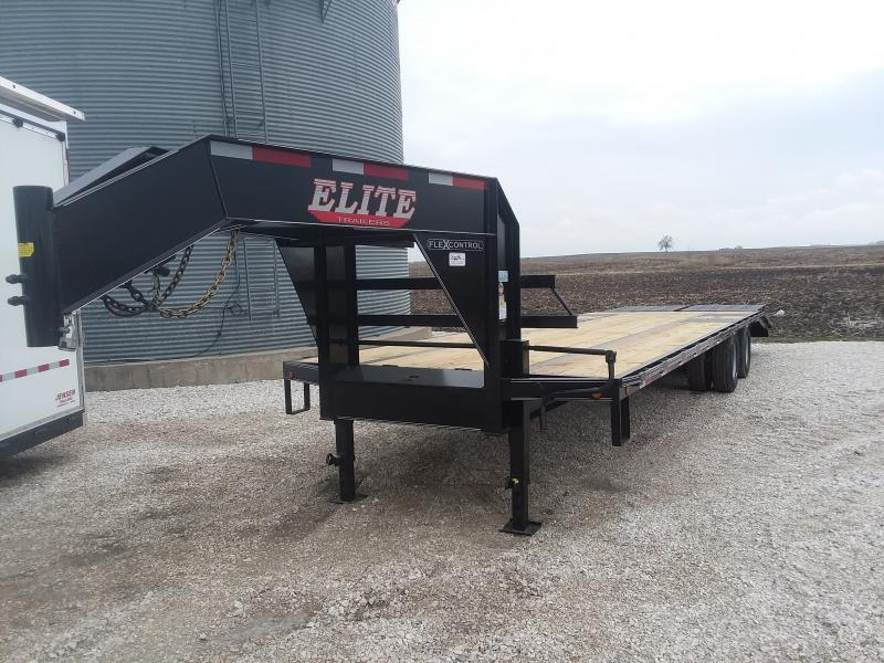 2020 Elite Trailers Elite 30TD GN Equipment Trailer