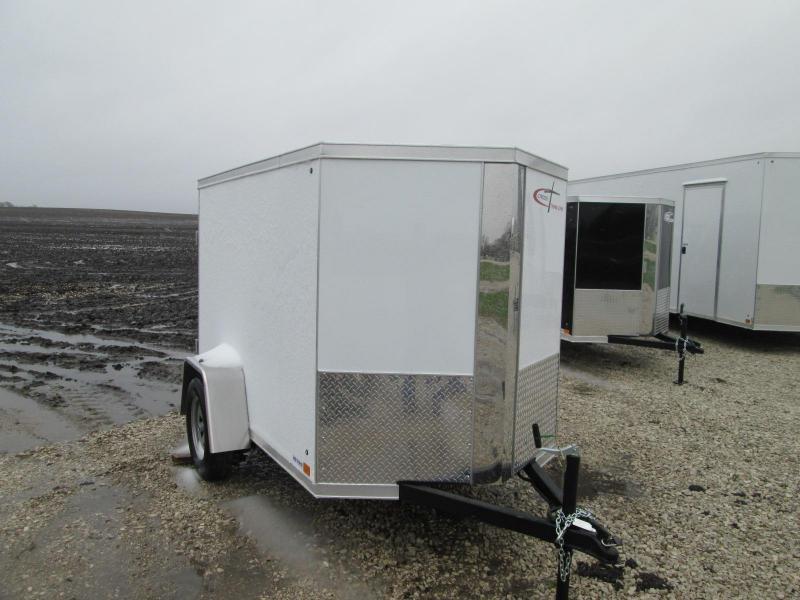 2020 Cross Trailers 5 X 8 Rear Cargo Doors Enclosed Cargo Trailer