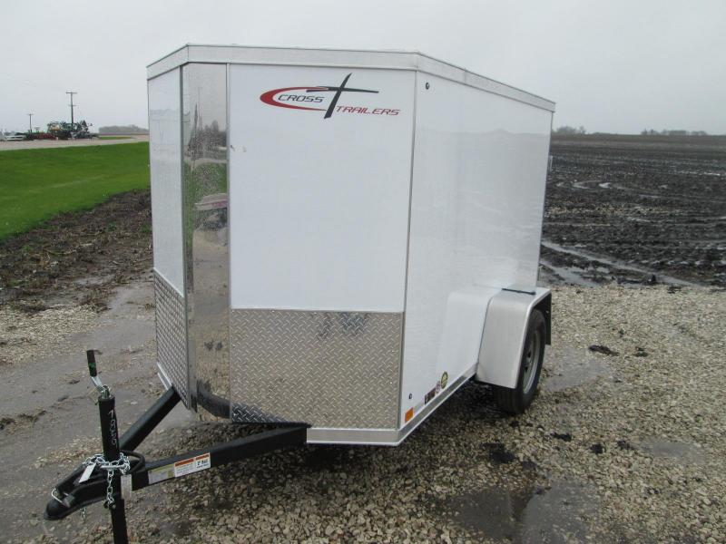 2020 Cross Trailers 5 X 8 Rear Cargo Doors Enclosed Cargo Trailer