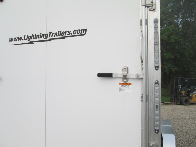 2020 Lightning Trailers LTFES714TA2 Snowmobile Trailer