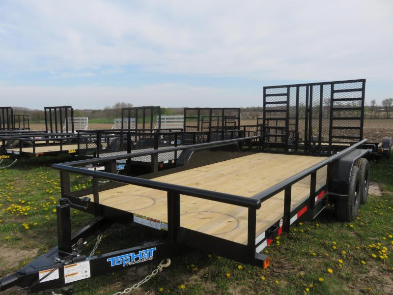 2020 Top Hat Trailers 16x83 HP 10K Equipment Trailer