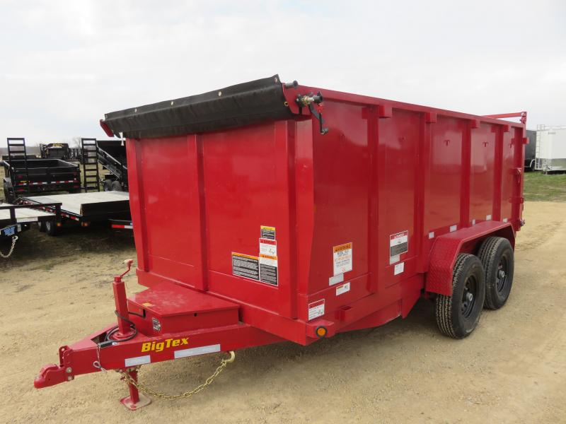 2020 Big Tex Trailers 14K 14ft Dump Trailer with 4 ft High Sides