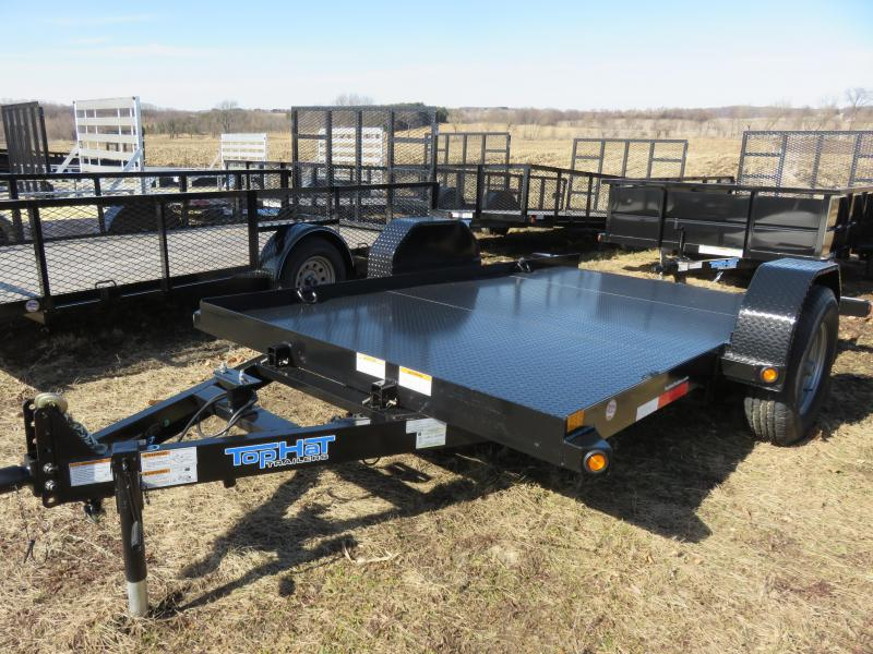 2019 Top Hat Trailers SAET70 12x80 Equipment Trailer