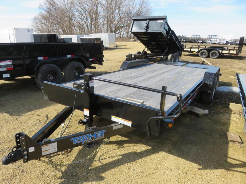 2019 Top Hat Trailers 16K EH Equipment Trailer