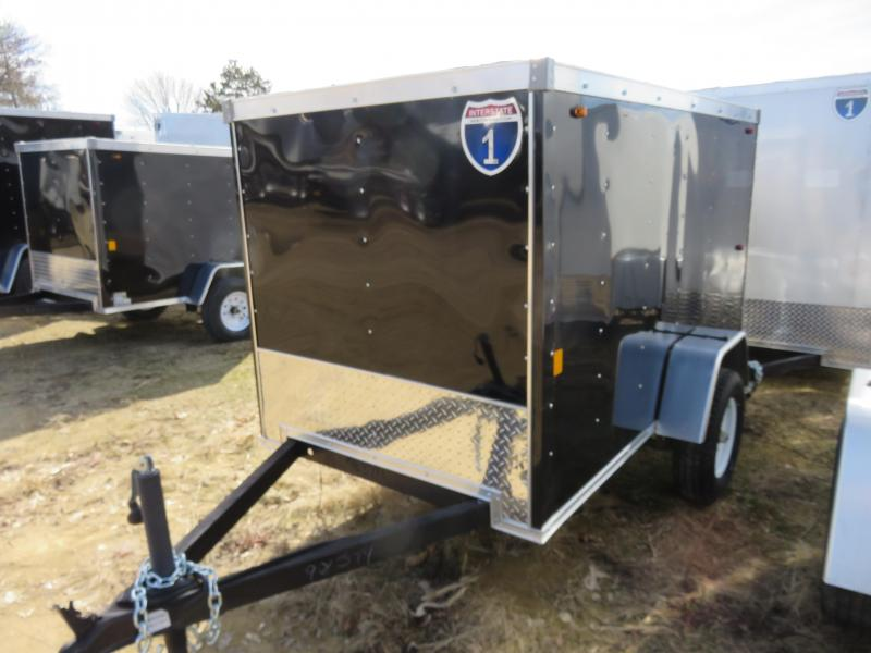 2019 Interstate 4x8 Enclosed Cargo Trailer