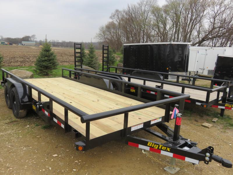 2020 Big Tex Trailers 10PI-18 Equipment Trailer