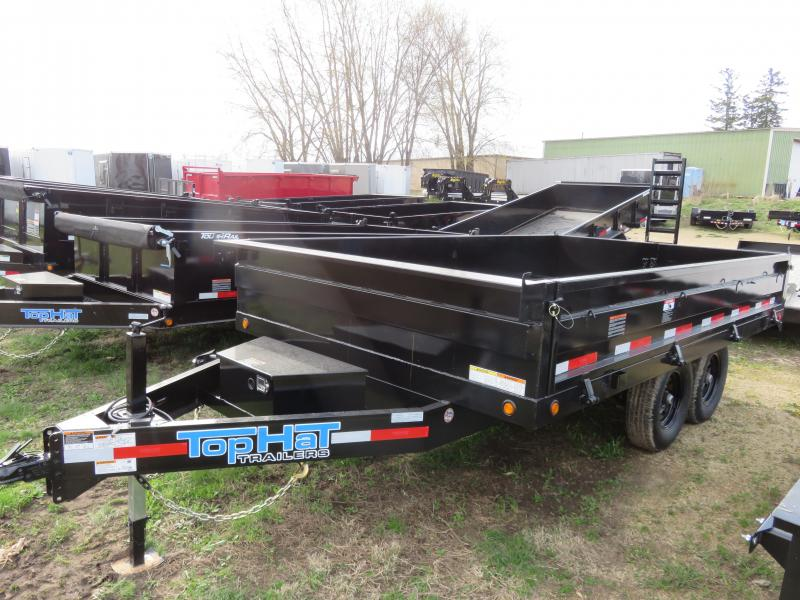 2020 Top Hat Trailers 14x96 Drop Side 14K Dump Trailer