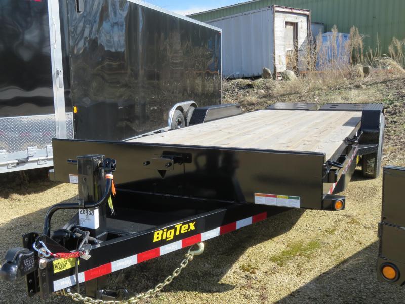 2019 Big Tex Trailers 16ET 19+3 Equipment Trailer with Mega Ramps