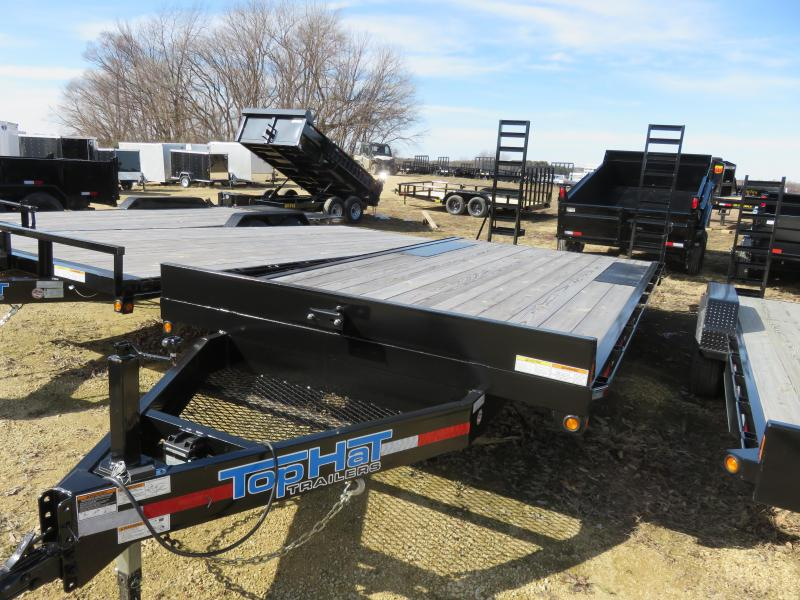 2019 Top Hat Trailers DO20x102 14E Equipment Trailer