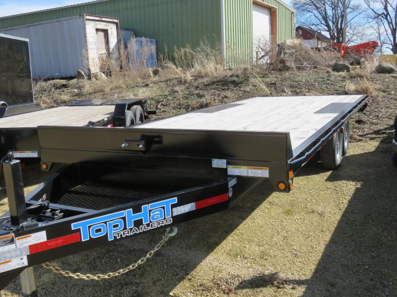 2019 Top Hat Trailers 20x96 10K Deckover Equipment Trailer