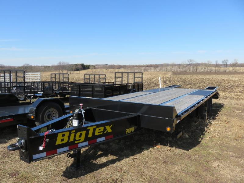 2018 Big Tex Trailers 20PH-20+5 Equipment Trailer