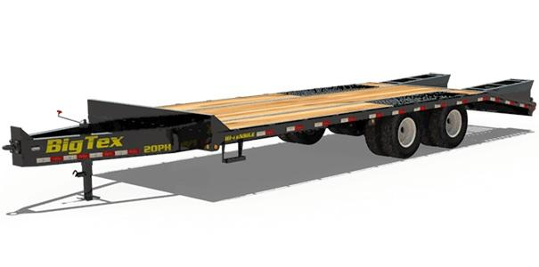 2018 Big Tex Trailers 20PH-20+5 Equipment Trailer