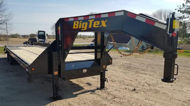 2020 Big Tex Trailers 25GN-25+5 Equipment Trailer