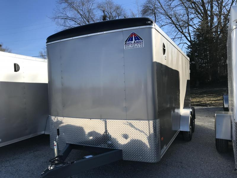 2020 Haul-About Leopard 7 x 16 Enclosed Cargo Trailer